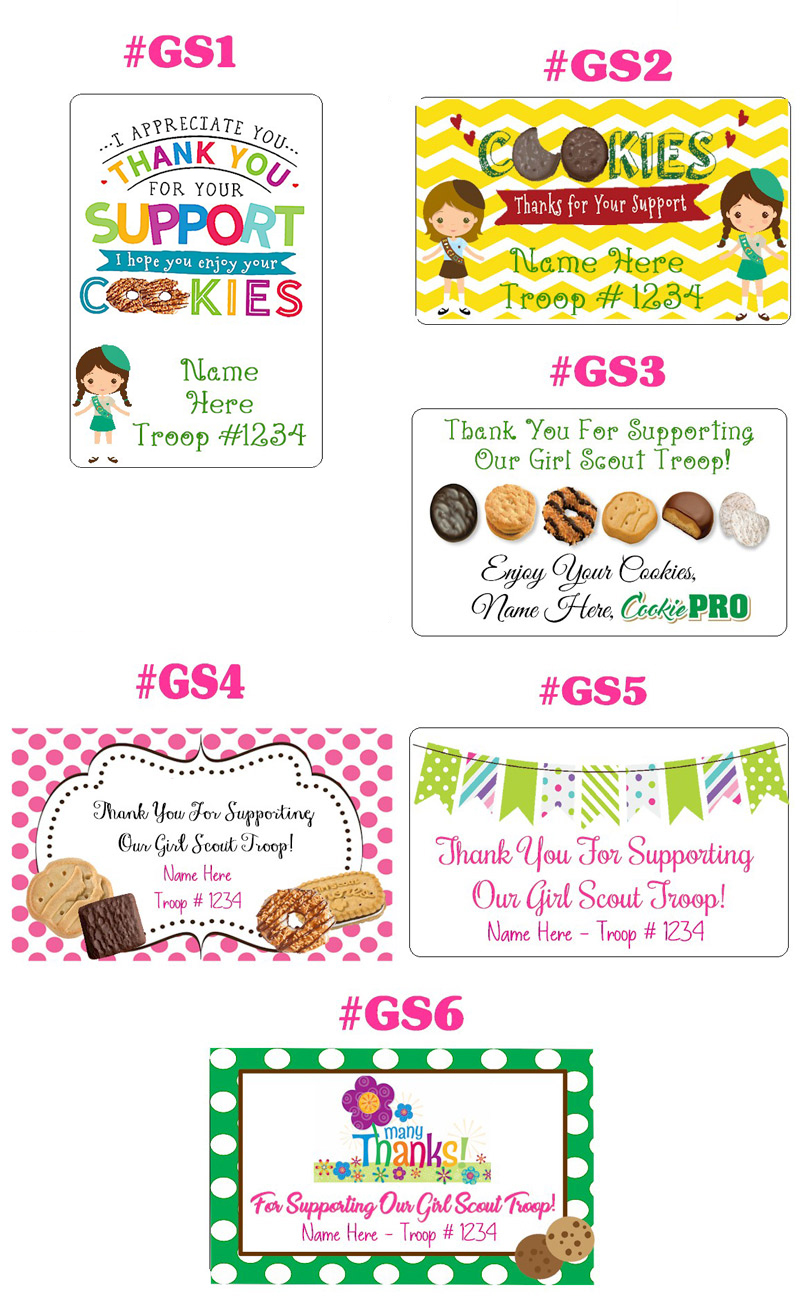 Girl Scout Cookie Cards