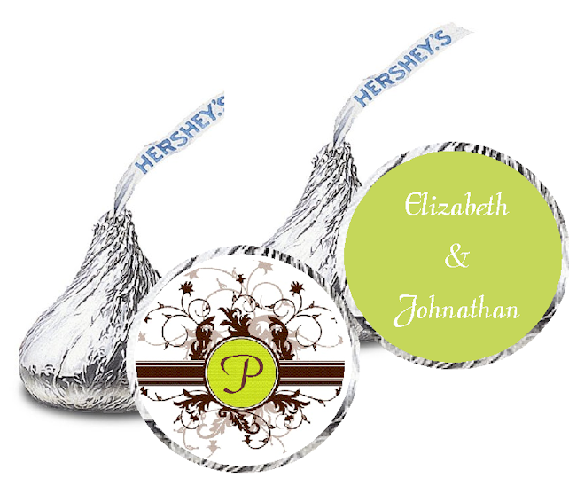 Hershey kiss label template